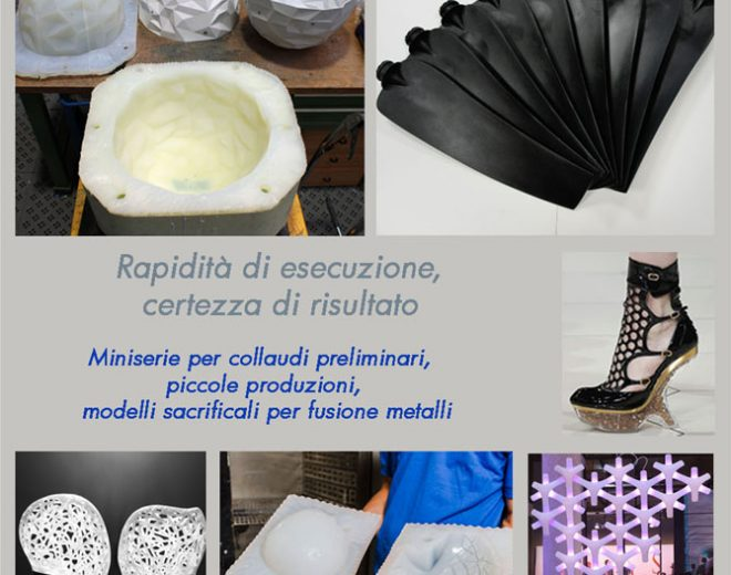 Stampi in Silicone - Sinthesi Engineering